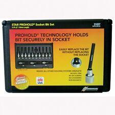 Bondhus 31037 Torx Bit Socket Set 13 Piece