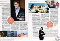 Coupure de Presse Clipping 2013 (2 pages) Robert Redford