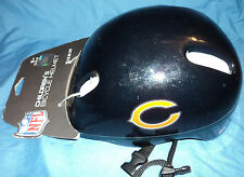 NFL Chicago Bears, Children's Kids Bicycle Bike Safety Riding Helmet, Size M