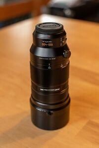 Panasonic Lumix G Leica DG Vario-Elmar 100-400mm f/4 - 6.3 asph (hardly used)