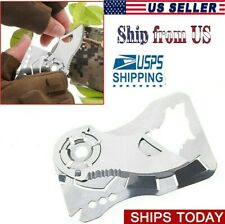 Multifunction Pocket Knife Folding Camping Outdoor Army hunting Sport for men US