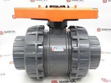 /& BSP Soldadura Solvente pegamento conjunto Válvulas de bola de PVC . Roscado conjunto