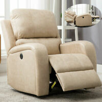 Power Recliner Chair Electric Leather Sofa Couch Oversize Lounge wuth USB Port