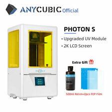 "ANYCUBIC Photon S Stampante 3D Printer 500ml Resina UV 2,8""TFT doppio asse Z"