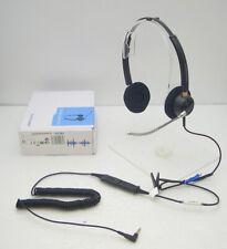 Plantronics HW520V IP10 Stereo Headset for Alcatel 8078s 8068s 8058s 8028s 8088