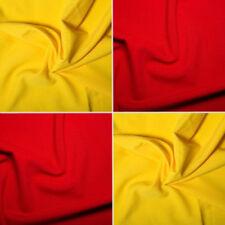 Telas y tejidos color principal rojo de poliéster para costura y mercería