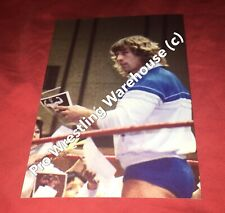 Kerry Von Erich Signing Autographs,Wrestling Photo,4x6,NWA,WCCW,AWA,World Class