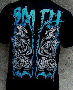 BRING ME THE HORIZON - wolves quality screen printed t-shirt sizes (S & XL)