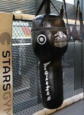 Genuine Fairtex Muay Thai Kick Boxing K1 Mma Leather Angle Heavy Bag Hb13 UnFill
