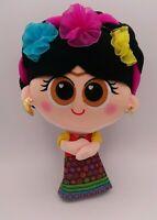 RARE Amparin Fisita Friducha Plush 11 inch Frida Kahlo Artist Colorful Vibrant