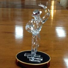 Swarovski Crystal Magic Of Dance Flamenco Dancer Antonio With Stage Stand SCS
