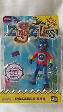 Zingzillas Posable Zak Figure New Official Genuine BBC Merchandise Cbeebies