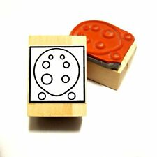 Ocarina Fingering Rubber Stamp - 8 hole tablature stamp for beginners!