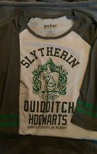 Slytherin Womens Quidditch Baseball Tee Harry Potter Hot Topic