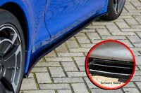 CUP Seitenschweller Schweller aus ABS für Renault Alpine A110 schwarz glanz