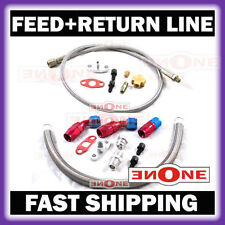 Turbo Oil Return Drain + Feed Line Honda Civic B16A D16