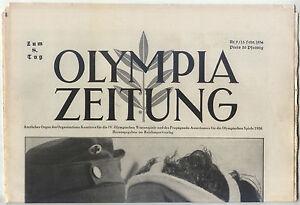 13.02.1936 OLYMPIA ZEITUNG Number 9 - Olympic Games Garmisch-Partenkirchen 1936