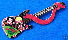 OSAKA JAPANESE PINK CHERRY BLOSSOM 2002 TELECASTER GUITAR Hard Rock Cafe PIN LE