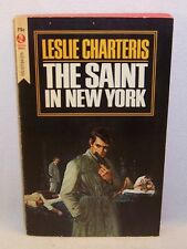 Leslie Charteris THE SAINT IN NEW YORK First Edition thus Fine Vintage Paperback