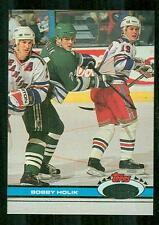 Bobby Holik Slovak Hockey Star 1991 Topps Stadium Card 299 - Hartford Whalers