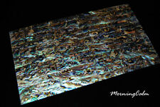 3 Sheets of Blue Paua Veneer (Shell Overlay Inlay MOP Abalone Mother of Pearl)