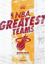 NBA - Greatest Teams - Miami Heat - White Hot (DVD, 2014, 2-Disc Set)-FREE POST