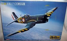 heller 1/48 FRENCH F4U-7 CORSAIR FIGHTER MOUSQUETAIRE