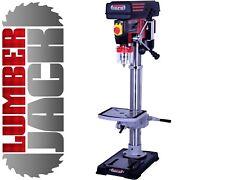 Lumberjack Pillar Bench Drill Press Rotary Table Stand 16mm Chuck 12 Speed 230v
