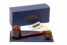 Savinelli Tortuga Smooth KS Briar 804 Tobacco Pipe