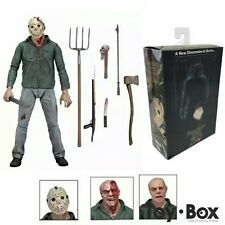 """Friday the 13th Part III NECA 3D JASON VOORHEES Scale Ultimate Action Figure 7"""""""