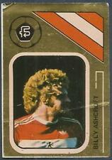 FKS 1978/79 SOCCER STARS GOLDEN COLLECTION- #199-MIDDLESBROUGH-BILLY ASHCROFT