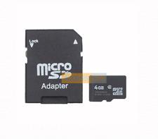 Carte Mémoire MicroSD 4GB Noir compatible GPS MIO Moov M610
