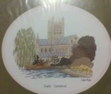 "SUSAN RYDER ""Wells Cathedral"" Heritage Stitchcraft cross stitch chart ©1992 OOP"