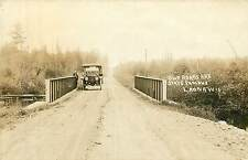 Wisconsin, WI, Laona, Our Roads are State Famous Real Photo Postcard