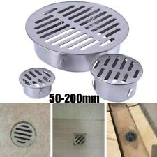 Stainless Steel Balcony Drainage Roof Round Floor Drain Cover Rain Pipe Cap