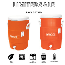 Igloo 5 Gallon Heavy Duty Beverage Water Cooler Pour Dispenser Sports Work Party