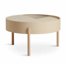 Woud Arc Tisch Couchtisch Beistelltisch Wohnzimmertisch Esche lackiert sFOTO