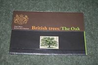 Post Office Presentation Pack 49 'British Trees - The Oak' 1973 MNH