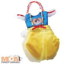 Biancaneve Principessa Costume Bag Ragazze Bambini Bambino Disney Costume Accessorio