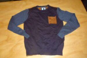 mooks Men's  sz L small fit  M ? cotton knit light jumper top
