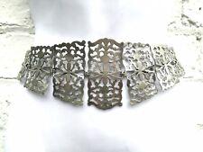 Antique silver plated Victorian Edwardian nurses belt Art Nouveau steampunk EPNS
