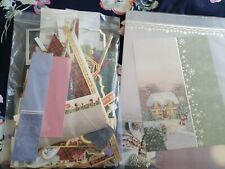 Bundle Of Hunkydory Christmas Left Of Card Making Items