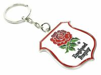 ENGLAND RUGBY CREST METAL KEYRING LICENCED OFFICAL PRODUCT  Birthday Present