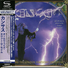 KANSAS-ALWAYS NEVER THE SAME-JAPAN MINI LP SHM-CD F83
