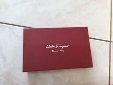 Salvatore Ferragamo Brown Leather Wallet/ Card Holder