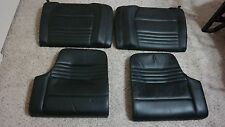 PORSCHE 911-996 OEM FACTORY ORIGINAL EQUIPMENT BLACK LEATHER COMPLETE REAR SEAT