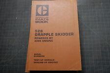 CAT Caterpillar 528 Skidder Parts Manual Book catalog list grapple OEM spare 78W