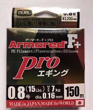 DUEL ARMORED F+ Pro  EGI/SQUID  150m #0.8 Max 7.0kg