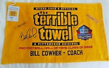 Pittsburgh Steelers Bill Cowher Hall of Fame Terrible Towel