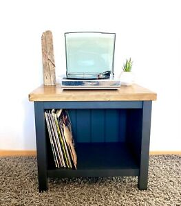 Record Player Stand - HANDMADE TO ORDER - Choice of Sizes, Colours and Finishes